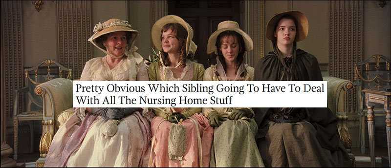 Austen + Onion Headlines: Pride and Prejudice 2005, part 3